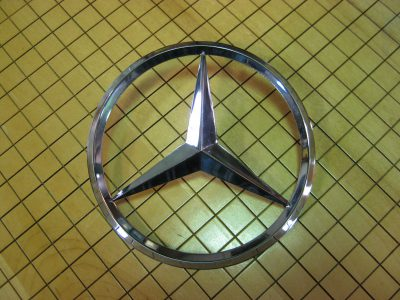 NOS Trunk Star for Mercedes-Benz 170 and 220
